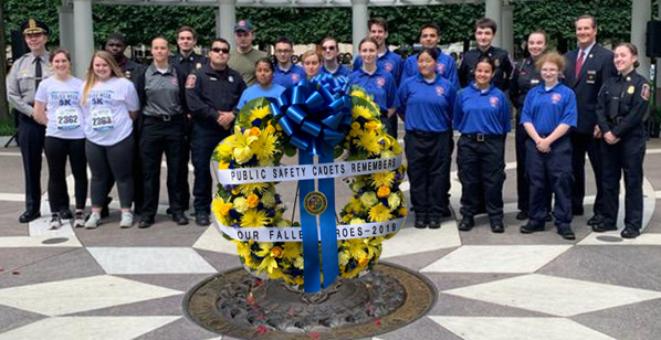 PSC Lay Wreath